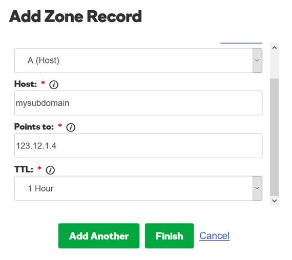 GoDaddy域名如何设置二级域名解析 - 域名平台篇